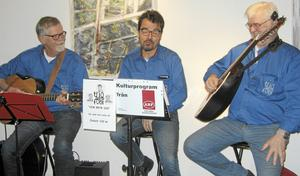 Trio Fobi spelade vid SKPF Dalarnas årsmöte i Säter.