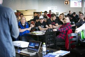 Personal från tio skidanläggningar i Dalarna deltog i SLAO:s höstupptakt.