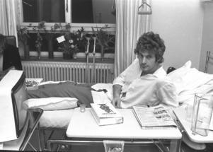 Thomas Wassberg fick operera knäet efter en bilolycka. Det stoppade hans deltagande i VM 1978.