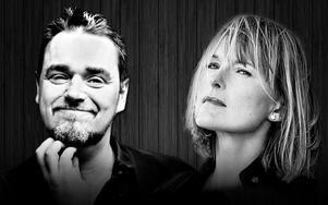 Jack Vreeswijk och CajsaStina Åkerström uppträder i Grängesberg.