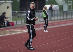 Ljusdals tränare Tomas Wennberg är