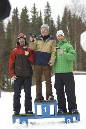 Tim Westerlund från Bjästa Alpina vann guldet. Tvåa blev Mattias Blomberg och bronset gick till Carl Sahlin.