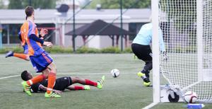 Sala hade några halvchanser under matchen förutom målet, i övrigt var det uddlöst framåt.