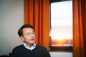 Höga Kusten Flygs ordförande Jan-Olof Backman gläds åt att företaget redovisar vinst för tredje året på raken.