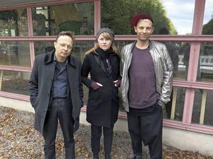 Folkteaterns ledningstrio börjar sätta avtryck: Erik Uddenberg, Kajsa Isakson och Mattias Brunn.
