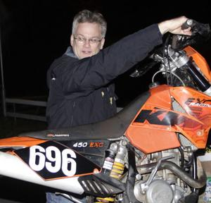 Det är mest veteranmotorcyklar som Torbjörn Marander är intresserad av, men i helgen startar han Gotland Grand National.