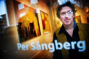 Per Sångberg inleder säsongen hos Bolin. Det är tredje gången han ställer ut i Östersund.foto: Robert Henriksson