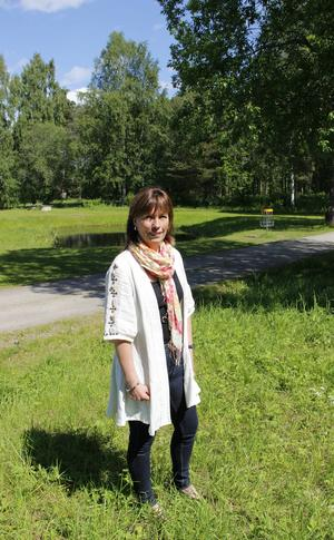 Gästriklands idrottsförbund har sina lokaler i Teknikparken och Ann-Gerd Bergdahl gillar närheten till naturen i Boulognern och Valls hage.