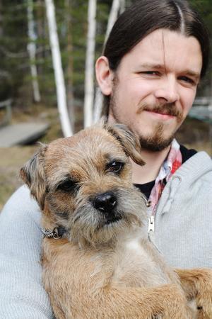 Oskar valde BuskisFör fyra år sedan åkte Oskar Belin till en borderterrier-uppfödare