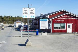 Från och med nästa vinter kommer kommunen att tippa snö vid Må avfallsanläggning.