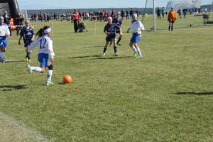 IFK Timrås flickor 11 år åkte ur i kvartsfinalen där SDFF vann och tog sig vidare till semifinalen.