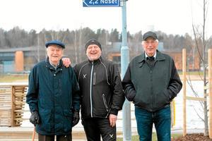 Lång startsträcka. Centerpartisterna Lars-Erik Ohlsson, Kurt Scharnke och Karl-Gunnar Lindkvist gläds åt Lindesjön runt, men det tog tid att få fart på idén de presenterade 1980.