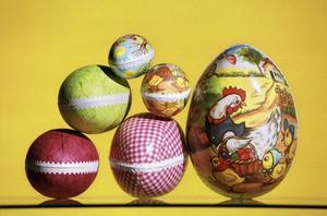 Ägg, av alla dess slag, kan vara en förklaring till varför färgen gul blivit synonymt med påsk.