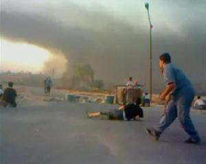 Under helgens attack på staden Hama sköts minst 140 människor ihjäl.