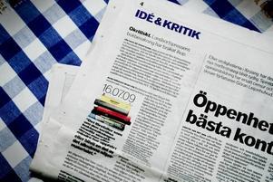 Noll koll? Per Landin, kritiker i Dagens Nyheter ger sig på landsortspressens kultursidor. Det skulle han inte ha gjort.Orättvist! (och ursäkta om jag är lite kaxig)