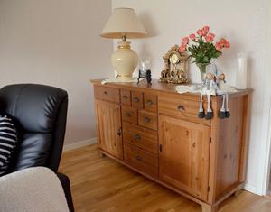 Den första möbeln de köpte ihop kunde Janusz och Jolanta ta till lägenheten...