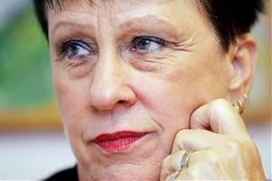 Lena Näslund (S), ordförande för Gullängets S-kvinnor