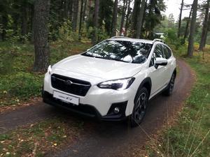 Subari XV har 22 centimeter   markfrigång. Det är några millimeter mer än exempelvis nya Volvo XC60.