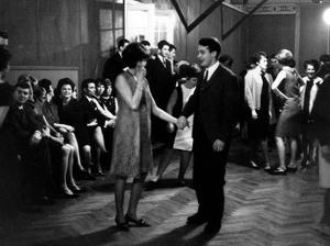 Hökens näste. På Sjöhagen fanns stans bästa dansgolv. Här dansades det i 40-talet år. Bilden är från 1966.