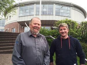 Nils-Olof Ericsson och Anton Eriksson utlovar flera satsningar för ungdomar framöver.