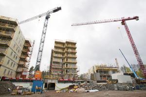 En stor mängd bostadsrätter har byggts i Västerås de senaste åren. Det gångna kvartalet har dock försäljningspriserna  på borätter sjunkit.
