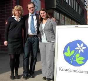 Nytt presidium. Marina Nedzewicz-Ander, Avesta, är ny distriktsordförande i Kristdemokraterna Dalarna. Krister Svensson, Borlänge, och Sara Lindström, Smedjebacken, är första respektive andra vice ordförande.