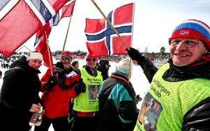 En grupp norrmän från Grycksbo. Martina, Binge, Jonny, Jan och Harry Grönoset.