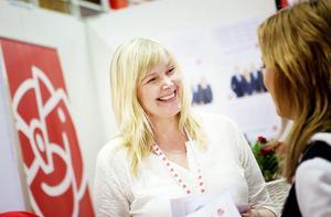 Riksdagsledamoten Marie Nordén (S).