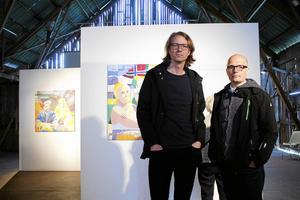 Lennart Samor och Jörgen Sparf har rest i inlandet för sitt projekt där de velat undersöka människors förhållande till platsen.
