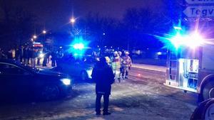 Den misstänkta smitningsolyckan inträffade i Ronna på söndagkvällen.