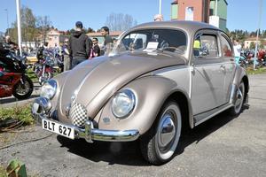 En bubbla. Volkswagens klassiska bilmodell dyker upp på många motorträffar.