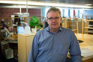 Lars Backteman, platschef på Skandia i Sundsvall, tror att man i stort sett kommer att klara den första neddragningen på 19 tjänster med naturlig avgång.