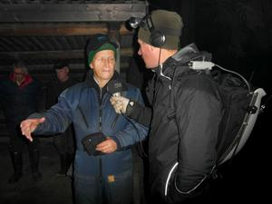 Bo Öhman, fiskekonsulent, intervjuas om Moälven och restaurering.
