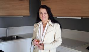 Liz Holback har bott i Gävle och flyttar nu hem till Västerås.
