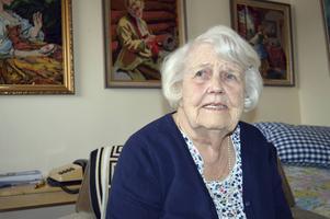 Karin Olsson fyller 100 år den 2 januari.