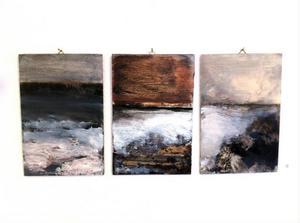 Sofia Heinonens målningar är koncentrerat dynamiska.
