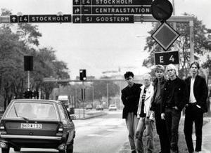 Brända barn på tiden då det begav sig, här på väg till Stockholm.