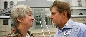 Finanslandstingsråd Ann-Margret Knapp och landstingsråd Björn Brink, C.