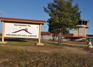 Kommunledningen uttrycker oro över den trafik som Avies bedriver mellan Härjedalen Sveg Airport och Arlanda.