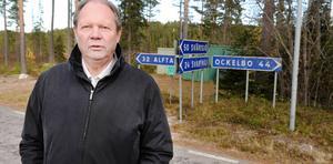 Rolf Johansson är kriminalvårdsinspektör i Gruvberget och är mån om det som är unikt med anstalten.