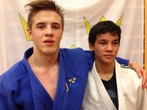 Victor Allansson och Mark Johansson tog två guld vardera för Östersund Judo vid helgens tävling i Sundsvall.