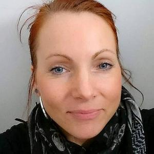 Chaterine Nordlund, medlem i nattvandrarföreningen Vuxna på byn - Timrå.