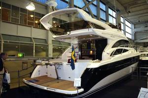 Drygt 4,5 miljoner kronor är priset för den här båten, en Princess 42.
