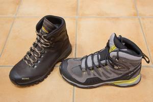 Sko dig. Rejäla skor för vandraren.