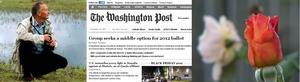 Mats Rosenberg, kommunbiolog, uttalar sig i Washington Post om det märkliga höstvädret.