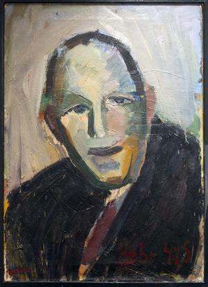 Porträtt av EAP Hebr 4:15 av Bertil Bertell.