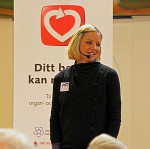 36-åriga Martha Ehlin, född och uppvuxen i Örnsköldsvik, hyllas ikväll på scenen vid Svenska Hjältar-galan i TV4 för sin kamp för fler organdonatorer i Sverige.