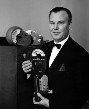 Carl-Axel Andersson och hans företag Cale tillverkade parkeringsautomater redan på 1950-talet. Och efter Stockholm var Gävle först i landet med nymodigheten.