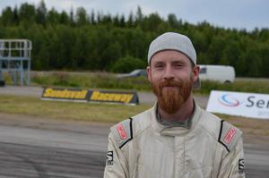 Fredrik Sjödin kom på en femteplats under helgens deltävling i Drift Allstars serien i Riga.