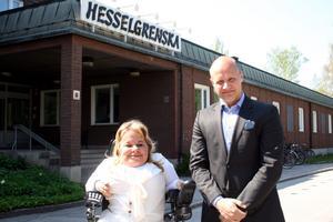 Veronica Hedenmark och Mathias Blomberg från VH Assistans tycker att Hofors kommun visat både bristande empati och stor okunskap när det gäller hur man skött lilla Veras fall.